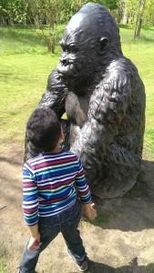 Gorilla at Victory Park_MotheringMushroom
